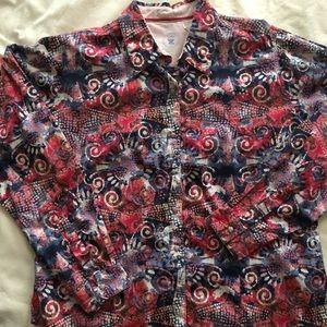 Women's Wrangler blouse Size XL